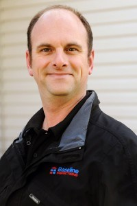 Jamie Ruth, a registered home inspector with Baseline Inspections.