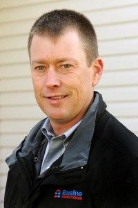 Rodney MacGillivray a registered home inspector with Baseline Inspections.